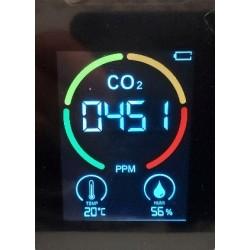 Luchtkwaliteits meter (CO2, Hygro en temp)
